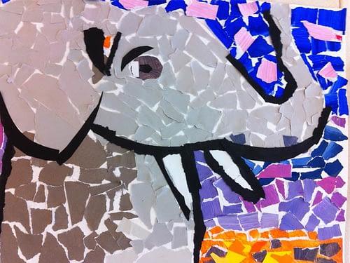 Mosaikdjur